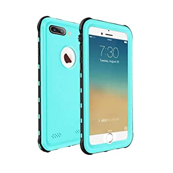 ChuWill Funda Impermeable iPhone 7 Plus, Carcasa iPhone 8 Plus, Certificado IP68 Antigolpes Sumergible Protección 360º Funda para iPhone 7/8 Plus(5.5 ...