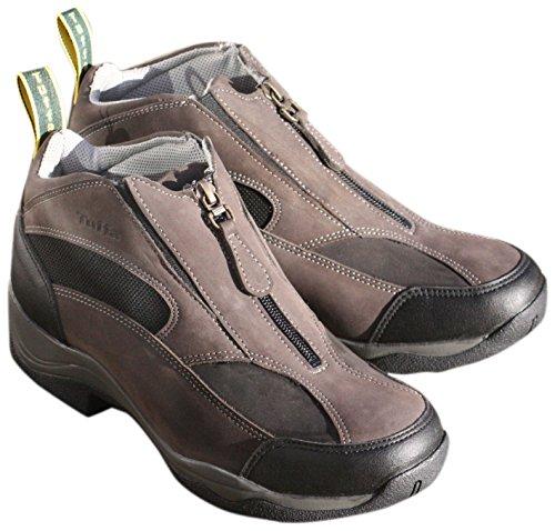 Tuffa-Scarpe da ginnastica da equitazione, colore: nero/grigio, taglia 37/4