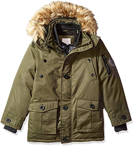 Diesel Boys' Heavy Weight Quilted Vested Jacket