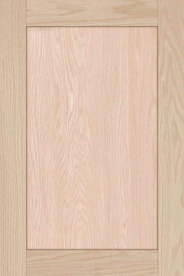 Unfinished Oak Shaker Cabinet Door By Kendor 24h X 16w Amazon Com