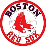 "Boston Red Sox Logo MLB Baseball Car Bumper Sticker Decal 5"" x 5"""