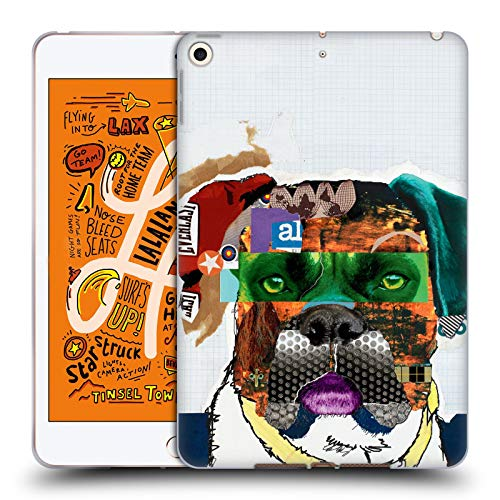 Official Michel Keck Boxer Dogs 4 Soft Gel Case Compatible for iPad Mini ()