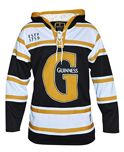 Guinness Black and Gold Hooded Hockey Jersey – DiZiSports Store