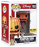 FUNKO Pop! Disney Pumpkin King #153 Hot Topic Exclusive Glows In The Dark / Nightmare Before Christmas Vinyl Figure, Model: , Toys & Play