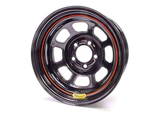 Bassett DOT Street Legal 15x7 in 5x4.75 Black Wheel Rim P/N 57RC3