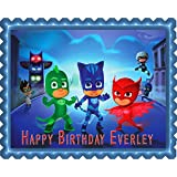 PJ MASKS (Nr1) - Edible Cake Topper - 10
