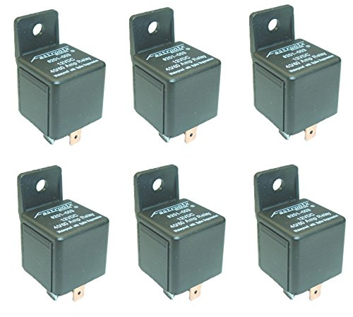 - Fastronix 40/60A Waterproof Relay 6 Pack