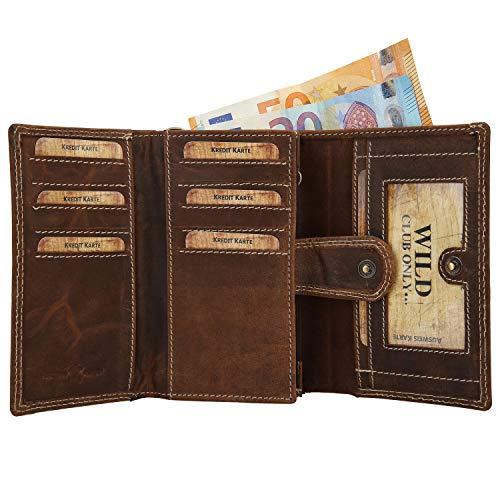 Geldbörse Herren LEDER Geldbeutel Portemonnaie Börse Lederbörse Brieftasche