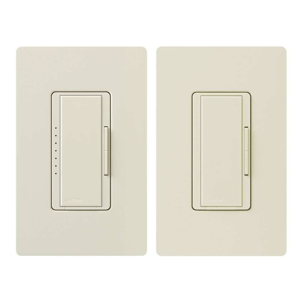 Lutron Maw603rh Wh Electronics Maestro 3 Way Duo Dimmer White Wiring A Double Light Switch Uk Three