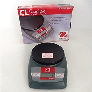 fimel – Báscula compacta Alcance 5 kg división 1 G tamaño integrado l.15 cm
