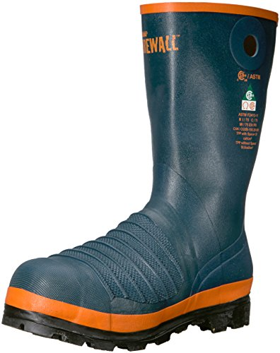 (Viking Footwear Men's Viking Firewall Rigger Boot, Steel Toe and Plate Fire and Safety, Navy 14 M US)