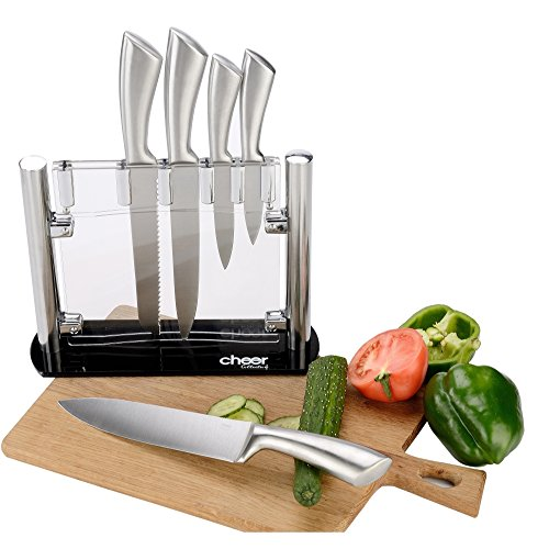 Cheer Collection Stainless Steel Chef Knife