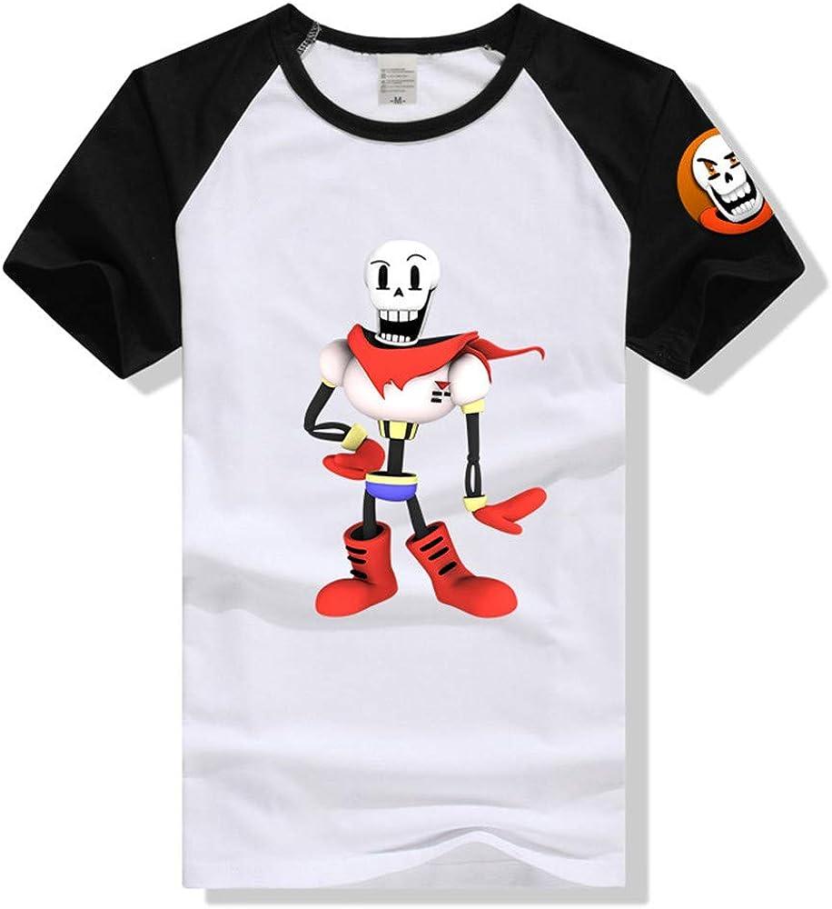 GOYING Camiseta Unisex de Manga Corta Undertale Contenido: impresión 3D, Otaku, Juegos de rol, cómics, Dibujos Animados: Amazon.es: Ropa y accesorios