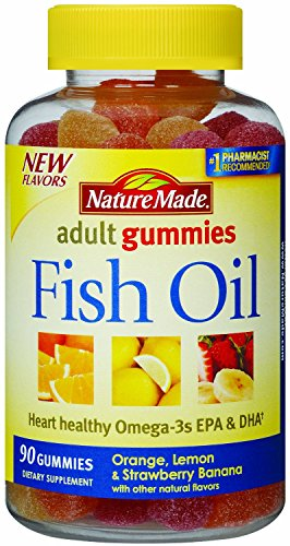 Nature Made Fish Oil Adult Gummies, 270 Count , Made-fhuj