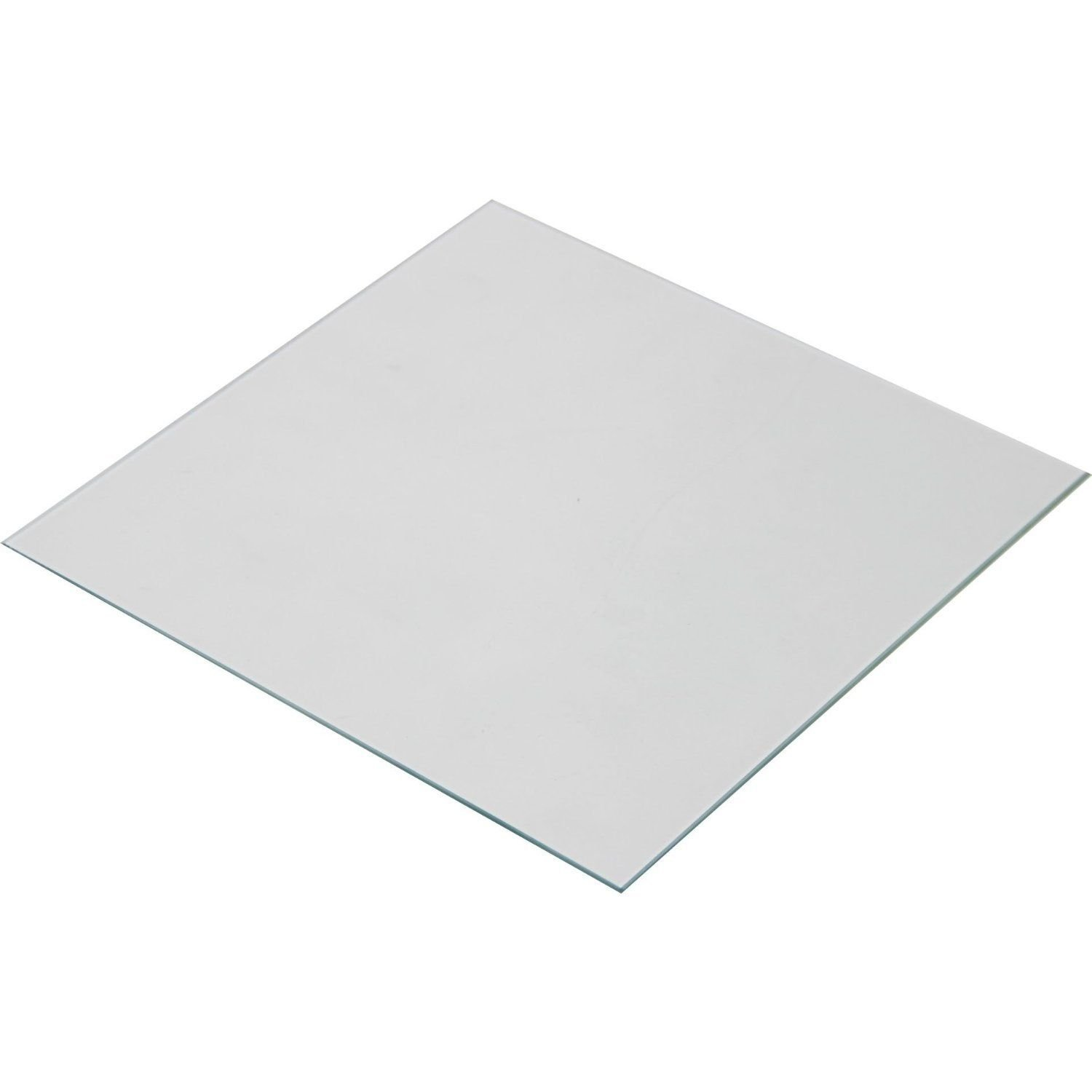 Wisamic Borosilicate Glass Plate Bed 200x200x3mm for 3D Printers Prusa, Monoprice Maker Select V2, Monoprice Maker Select Plus, etc
