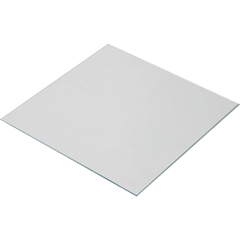 Wisamic Borosilicate Glass Heated Bed 220x220x3mm for 3D Printers MK2/MK2A, Anet A8, Anet A6, Reprap, Mendel