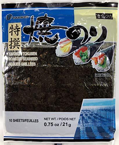 Yakinori Tokusen Roasted Nori Seaweed (10 Full ()