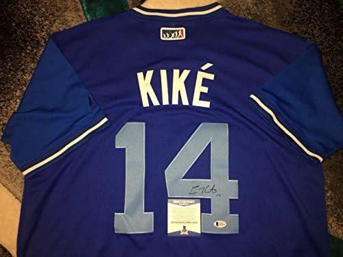 c3e905849af Enrique Hernandez Signed Jersey - Kike Players Weekend Beckett - Beckett  Authentication - Autographed MLB Jerseys