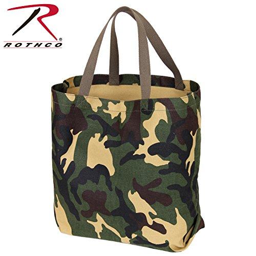 Rothco Canvas Camo Tote Bag