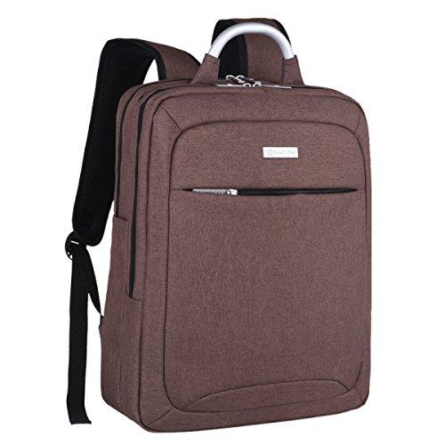 Students 6 Laptop Computer Inch Backpack Business 15 Bag Korean Brown Shoulder fqnagg
