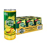 Perrier & Juice, Pineapple and Mango Flavor, 8.45 Fl Oz. Cans (24 Count)