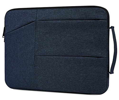 15.6 Inch Laptop Briefcase Bag fit Acer Predator 300 / Acer Aspire E 15 / Nitro 5, Dell Inspiron, Lenovo Ideapad, HP Pavilion, ASUS VivoBook F510UA, 15.6 Laptop Bag for Men Women, Navy Blue