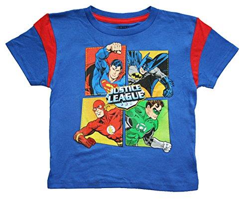 Justice League Little Boys (Toddler) Graphic T Shirt (5T)