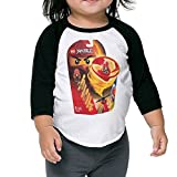 Best LEGO Friend Merchandises - Toddler Graphic Lego Ninjago Black Size 2 Toddler Review