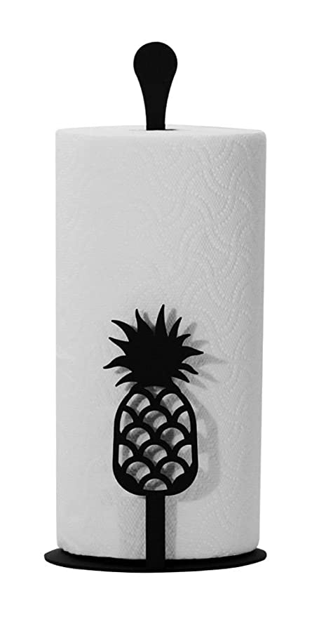 Amazon.com: Iron Counter Top Pineapple Kitchen Paper Towel Holder ...