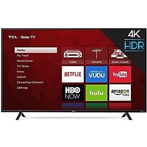 """TCL 49"""" Class 49S403 (48.5"""" Diag.) 4K Ultra HD Roku LED LCD TV"""