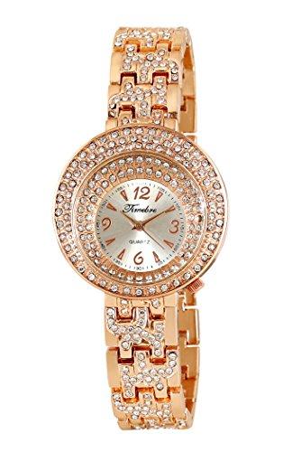 Timebre tmLXGLD362 TM-Premium Analog Watch For Women