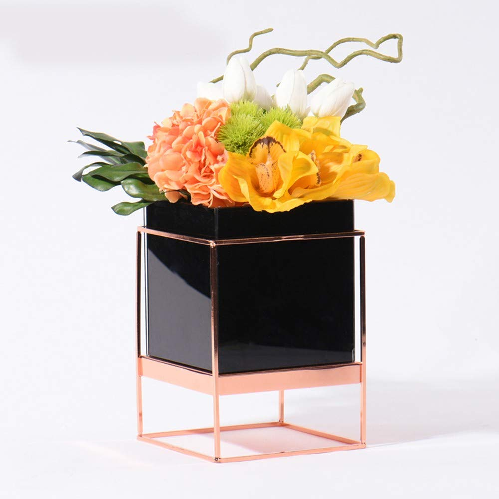 Platz Vase Hotelzimmer, Zimmer, Wohnzimmer, Teetisch, Teetisch, Weiche Montage und Ganze Simulations-Blumen-Kombination Gefälschte Blume Anzug