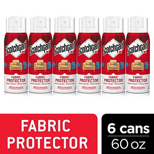 Scotchgard Fabric & Upholstery Protector, Repels Liquids, Blocks Stains, 60 Ounces
