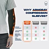 ARMORAY Arm Sleeves for Men or Women - Tattoo Cover