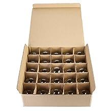 Box of 25 G40 Clear 1.6 Inch 5 Watt C7 Base Replacement Bulbs