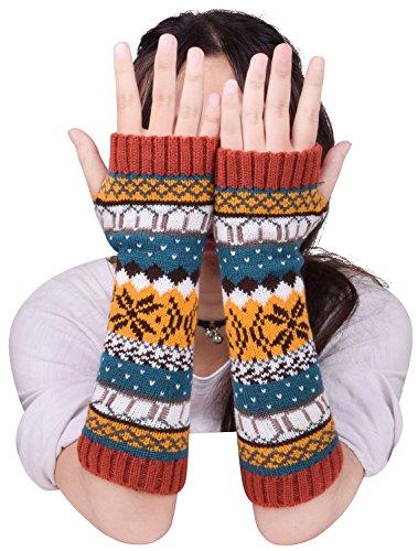 Wool Arm Warmers - 7
