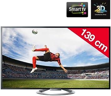 SONY BRAVIA KDL-55W805A - Televisor LED 3D Smart TV + Kit de limpieza SVC1116/10: Amazon.es: Electrónica