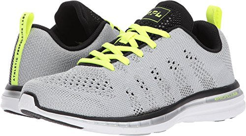 Athletic Propulsion Labs (APL) Women's Techloom Pro Metallic Silver/Black/Energy 10.5 B US by APL: Athletic Propulsion Labs