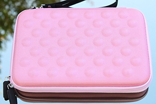 Amazing Accessory (TM) EVA-Molded Bubbles Shell Tablet Carrying Case (Pink) for EVGA Tegra Note 7 16 GB Tablet 016-TN-0701-B1 + one Mini Stylus Pen