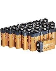 AmazonBasics 9V Everyday Alkaline Batteries (24-Pack)