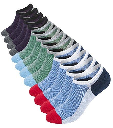 mens-low-cut-no-show-socks-6-pack-colorful-athletic-running-sport-socks