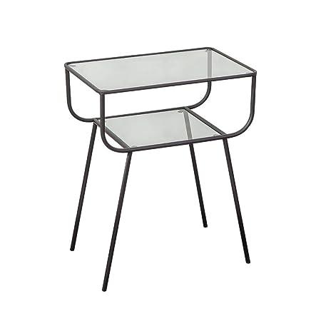 Tavolino Salotto Ferro Battuto E Vetro.Wsnddl Tavolino Da Salotto In Ferro Battuto Moderno Creativo