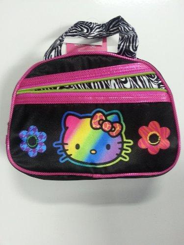 Purse Bag - Hello Kitty - Black Zebra (Hand Bag)