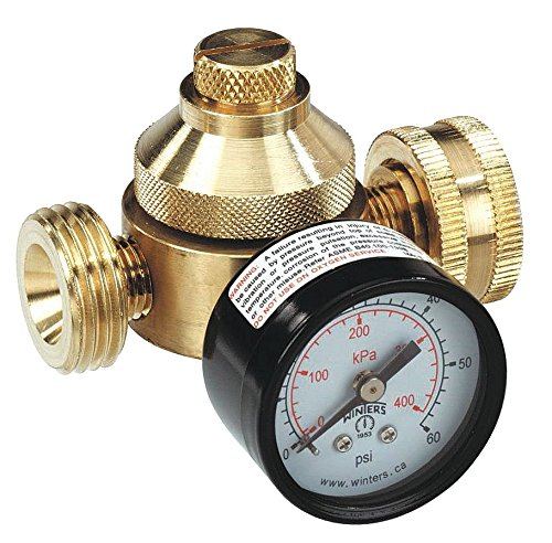 (Pressure Regulator, 3/4 In, 10 to 60 psi)
