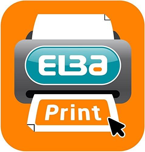 Elba RingBinder - Archivador con anillas con 20 fundas A4, negro: Amazon.es: Oficina y papelería
