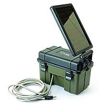 SME HME 12V Battery Box with Solar Panel