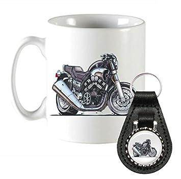 k1375-mk KOOLART Regalos Cartoon Yamaha VMAX motocicleta ...
