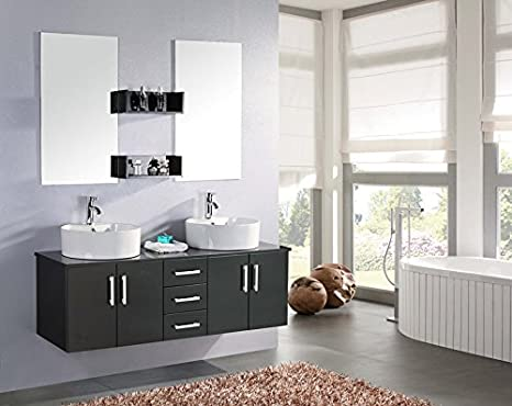 Amazon mobili bagno sospesi cool mobile bagno butterfly arredo bagno arredobagno cm nero - Amazon mobili bagno sospesi ...