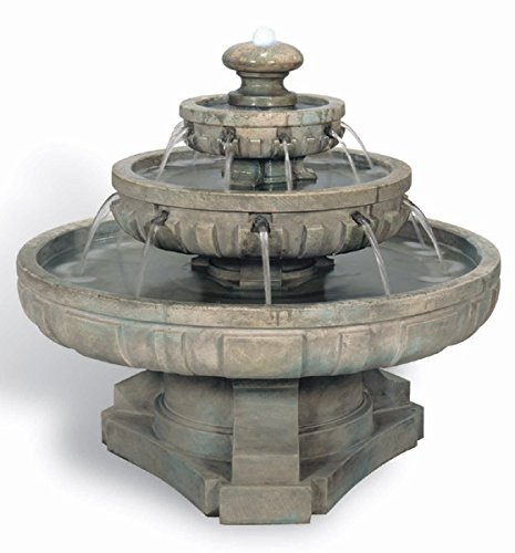 HENRI STUDIO Large Regal Tier Fountain