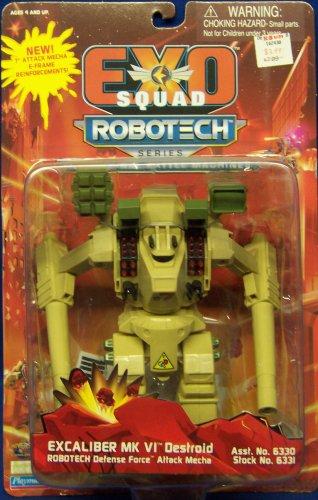 EXO SQUAD EExcaliber MK VI Destroid Robotech Defence Force Attack Mecha Action Figure